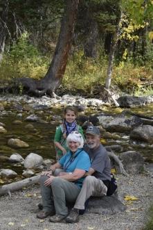 Hiking in Laurance S. Rockefeller Preserve
